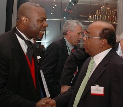 CK with Mo Ibrahim