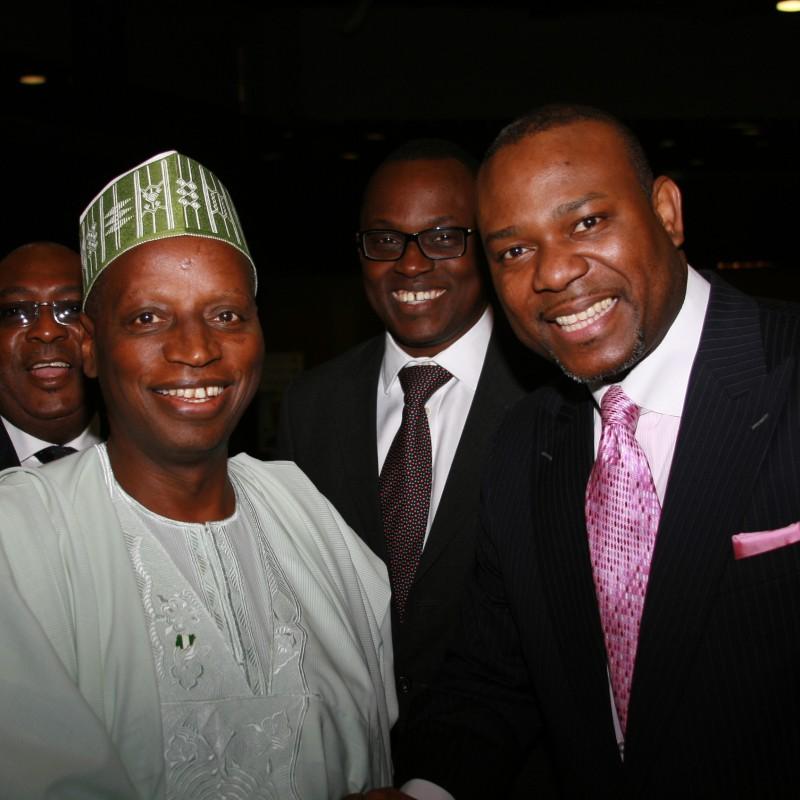 CK with Shamsudeen Usman